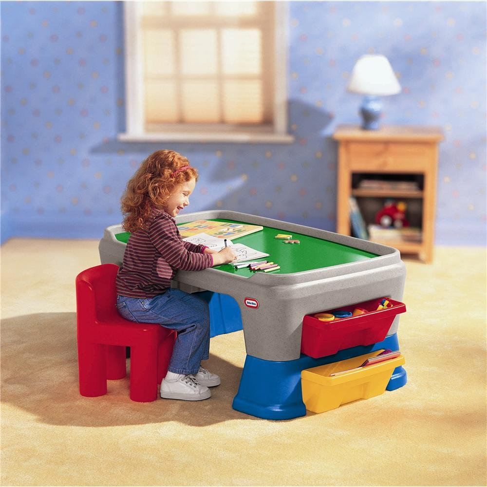 An Image of Little Tikes Easy Adjust Play Table