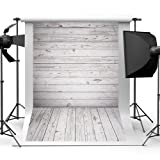 Qintec Wood Backdrops Wooden Background Backdrops for Photography Videos Studio Shooting 5x7ft (Tamaño: 5x7ft)