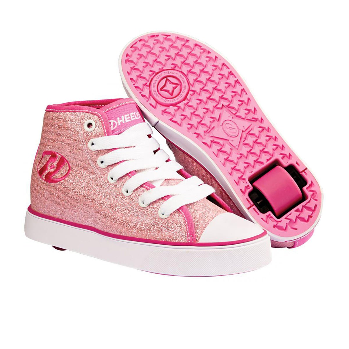 Chaussures Veloz Heelys - Rose Glitter   avis de plus amples informations