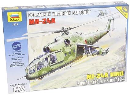 Zvezda - Z7273 - Maquette - Mil MI-24 Hind - Echelle 1:72
