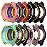 AWINNER Colorful Case for Gear S3 Frontier SM-R760,Shock-proof and Shatter-resistant Protective iwatch Silicone Case for Samsung Gear S3 Frontier SM-R760 Smartwatch (12-Colour) (Color: 12-Colour)