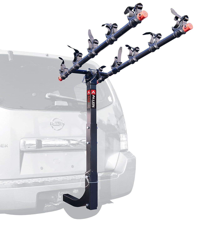 Car Bike Rack 5 Bike Hitch Mount Heavy Duty Steel Folding