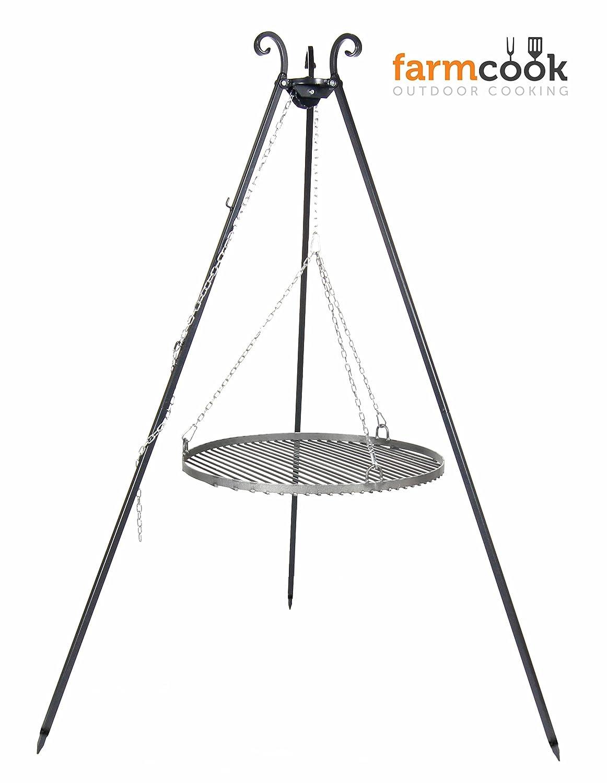 Schwenkgrill VIKING Dreibein mit Rost aus Rohstahl (Ø60 cm) bestellen