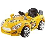 Deliababy Delia Baby Hot Racer, Yellow