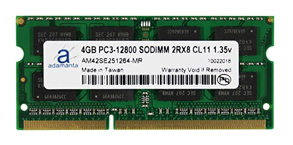 4GB RAM Memory Upgrade for the Dell Vostro Notebook V13