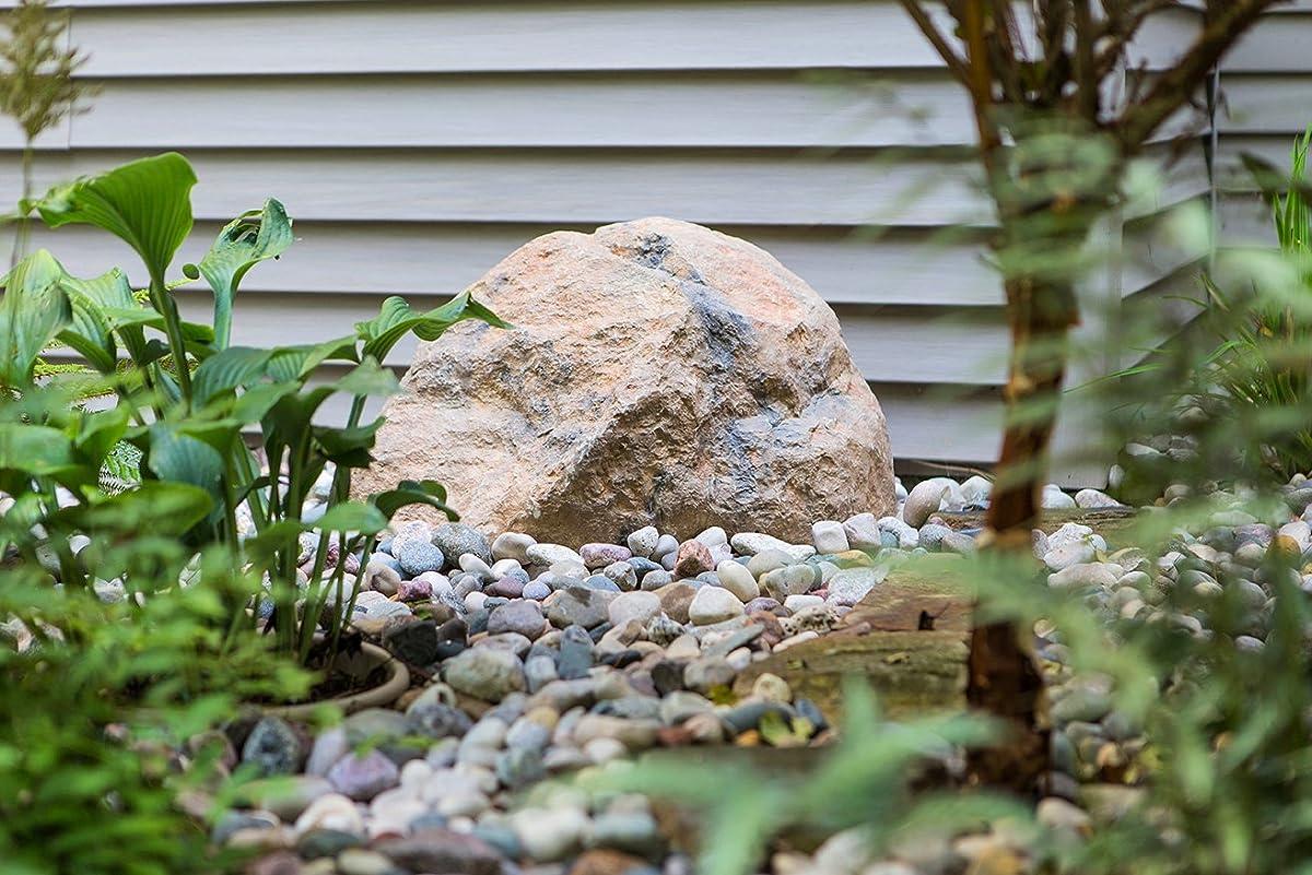 Outdoor Essentials Faux Rock,Tan,Small