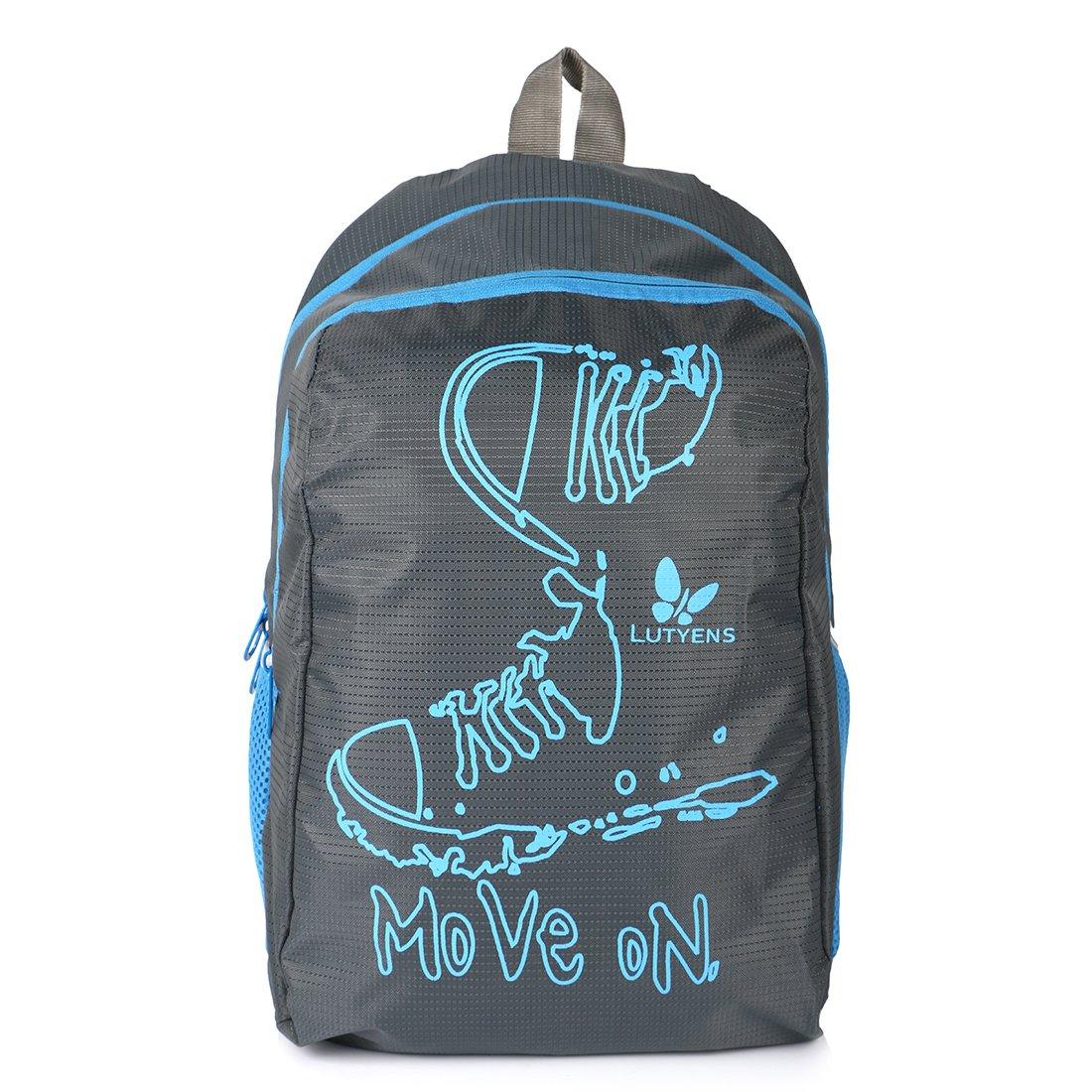 School bags online cash on delivery - Lutyens Polyester Black Blue School Bags 17 Liters Lutyens_194 Amazon In Bags Wallets Luggage