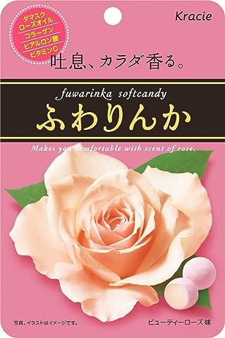甜甜的体香约会必备好物,嘉娜宝KRACIE玫瑰香体糖
