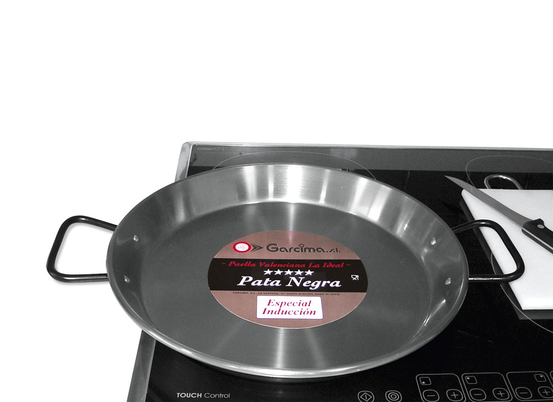 Garcima - Paellera valenciana acero pulido induccion 38 cm   Comentarios de clientes