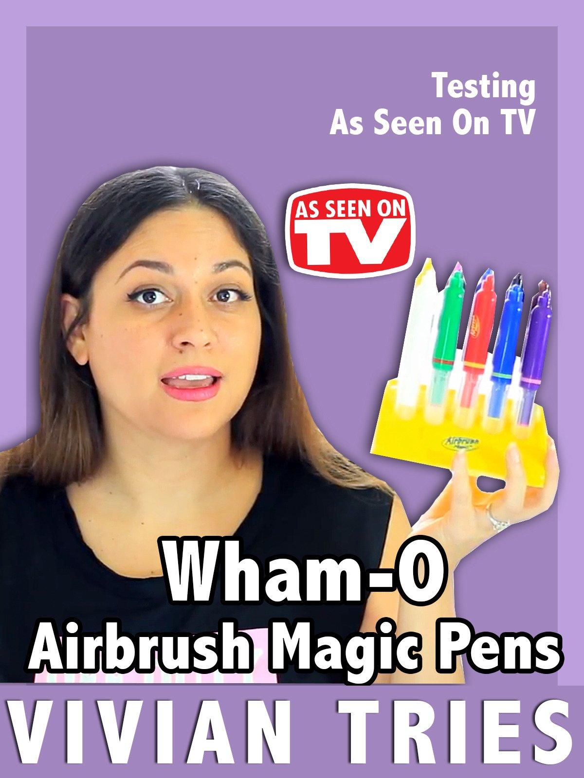 Review: Wham-O Airbrush Magic Pens