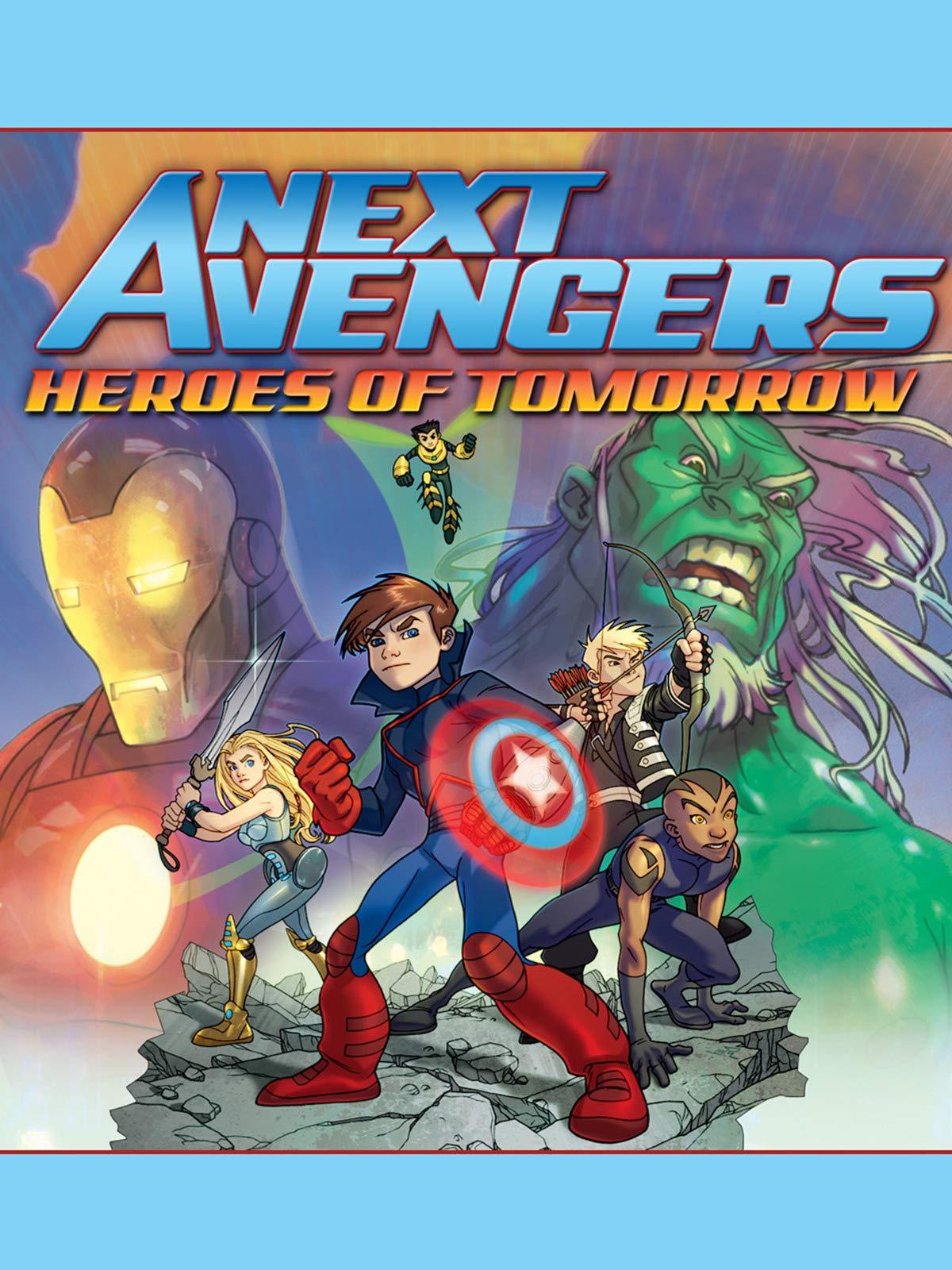 Next Avengers: Heroes of Tomorrow on Amazon Prime Video UK