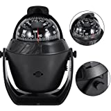 Sea Marine Compass LED Lights Illuminated Light Up Electronic Digital Navigation Compass Boat Caravan Truck