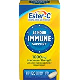 Ester-C Vitamin C 1000 mg Coated Tablets 120, Vitamin C Supplement, for Immune System Support(1), Stomach-Friendly, Gluten-Free