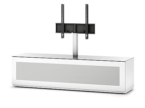 Sonorous STD 261I-WHT-WHT-BW Studio TV-Lowboard fur 177,8 cm (70 Zoll) Fernseher weiß