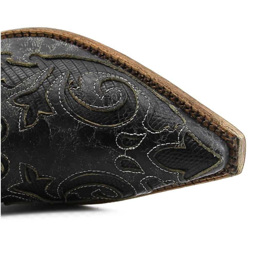 Corral Men's Vintage Lizard Inlay Cowboy Boots 4