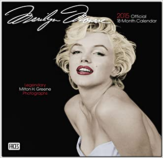 Marilyn Monroe 2015 Square 12x12 Faces (ST-Silver Foil) (Multilingual Edition)
