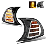 SPPC Chrome LED Corner Light Pair for BMW E46 Coupe/Convertible - Passenger and Driver Side