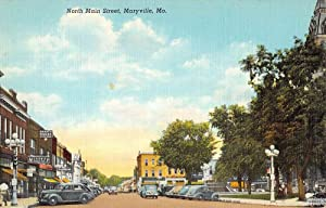 North Main Street in Maryville, Missouri