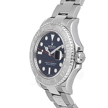 ロレックス ヨットマスター機械式(自動巻き) ブルーダイヤル メンズ腕時計 116622 (認定中古品)