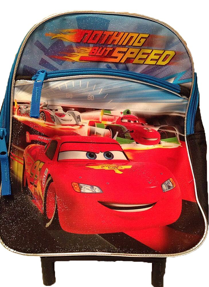 где купить Disney PIXAR Cars Nothing But Speed Small Backpack дешево