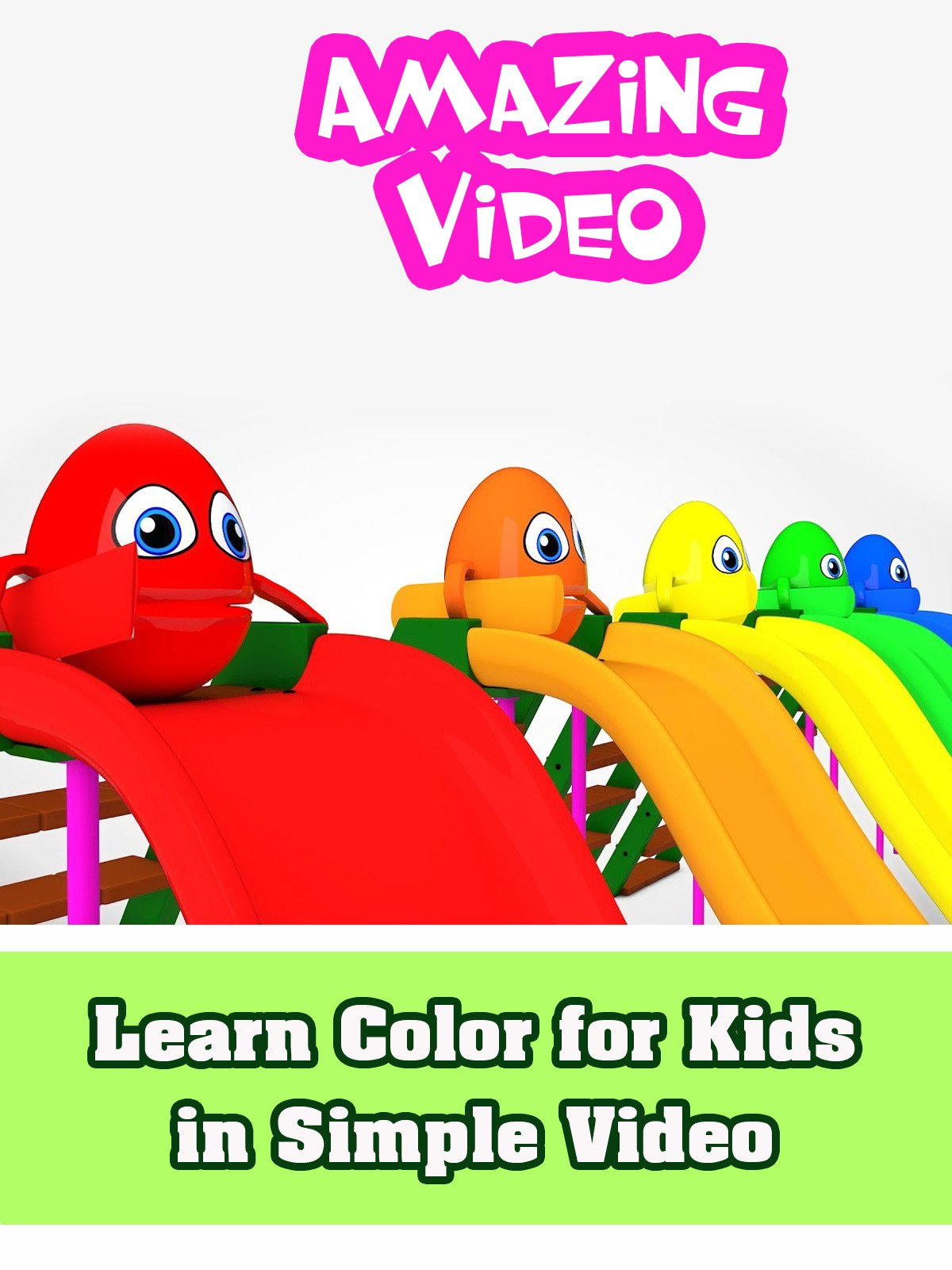 Learn Color for Kids in Simple Video