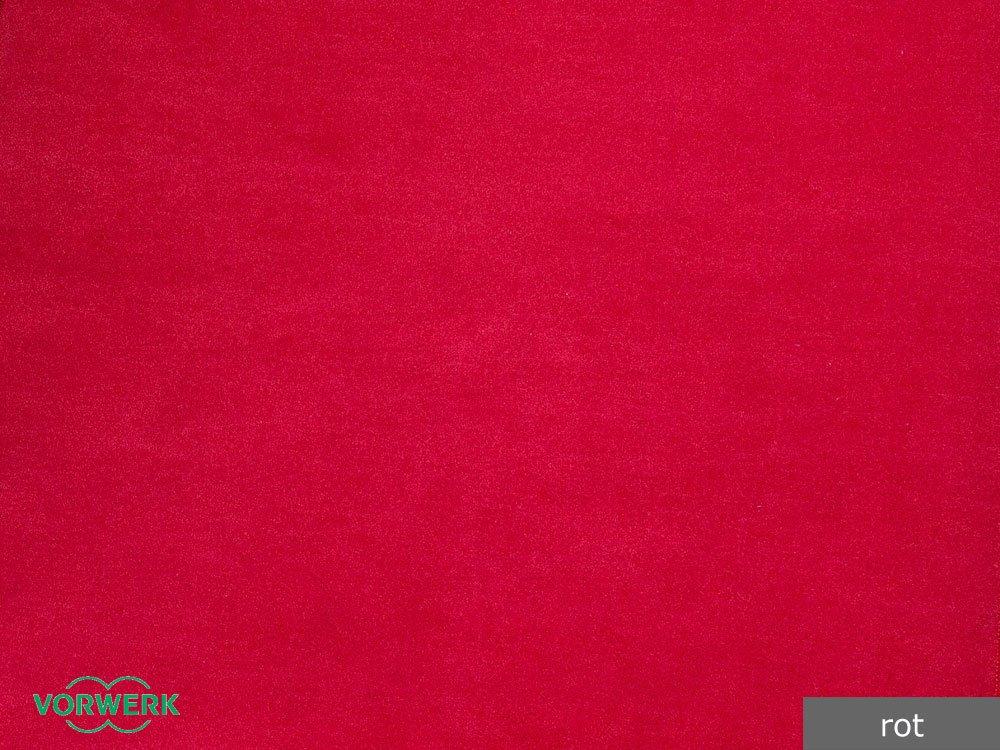 Teppichboden Auslegware Vorwerk Bijou rot 400 x 175 cm 16,95 EUR / m²  BaumarktKundenbewertung: