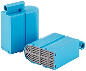 Domena 500410057 - Cartuchos filtradores de cal para centros de planchado con sistema antical EMC/CAPT Protect (2 unidades)   Más información y comentarios de clientes