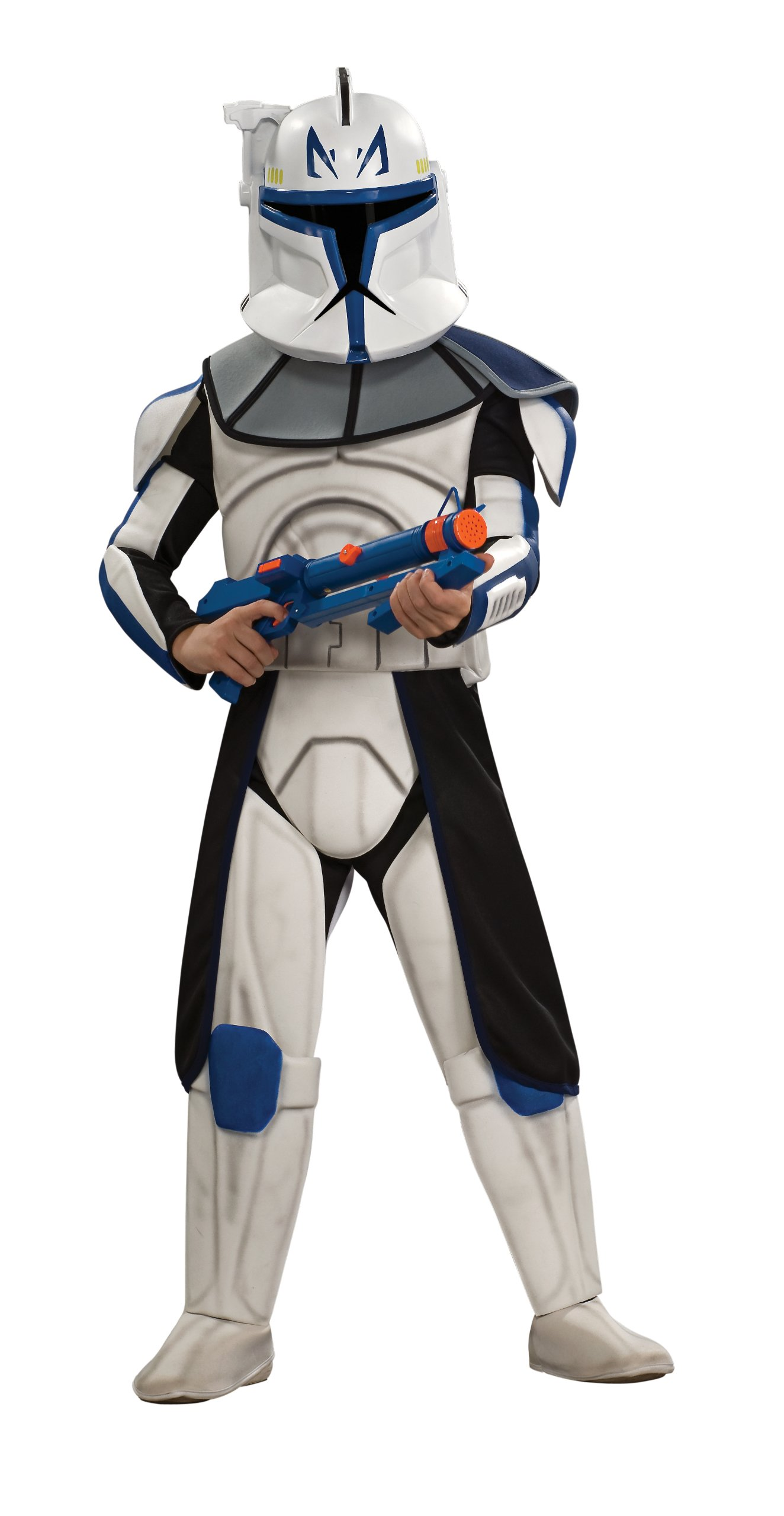 Star Wars Clone Wars Clone Trooper Child's Deluxe Captain ...