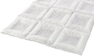 CLIMABALANCE® Premium Daunenbett, weiß Light 135X200 CM  Kundenbewertung und Beschreibung