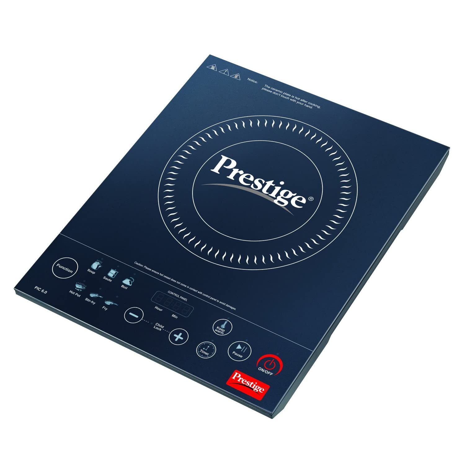 Prestige 2000-Watt Induction Cooktop PIC 6.0