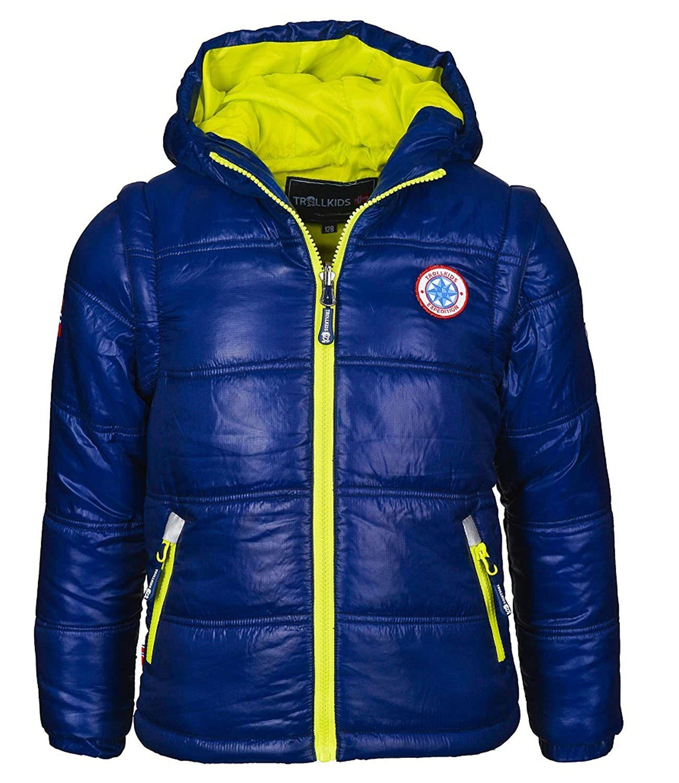 Details für Original wählen beste Qualität für Trollkids Skijacke / Winterjacke mit abnehmbaren Ärmeln ...