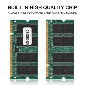 Tangxi DDR1 Memory,DDR1 RAM,1GB Meomory 400MHz PC-3200 200Pin, Desktop Memory for Intel/AMD Motherboard,Fully Compatible for Desktop Computer (Color: default, Tamaño: 1 Gb)