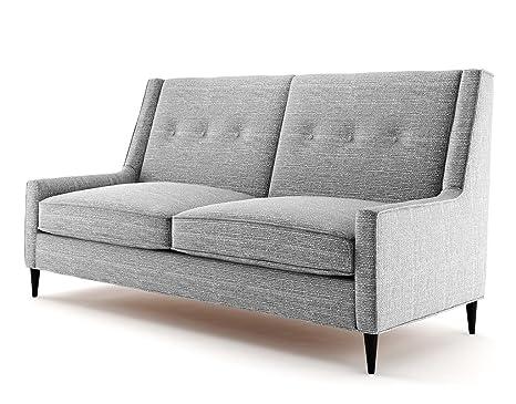 Ives 3 Sitzer Sofa grau, Couch , Jugendsofa, couchgarnituren, lounge möbel