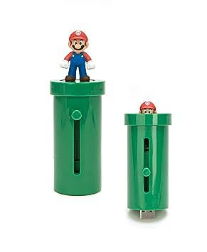 Super Mario Bros Wii Mario Warp Pipe Micro SD Card Reader
