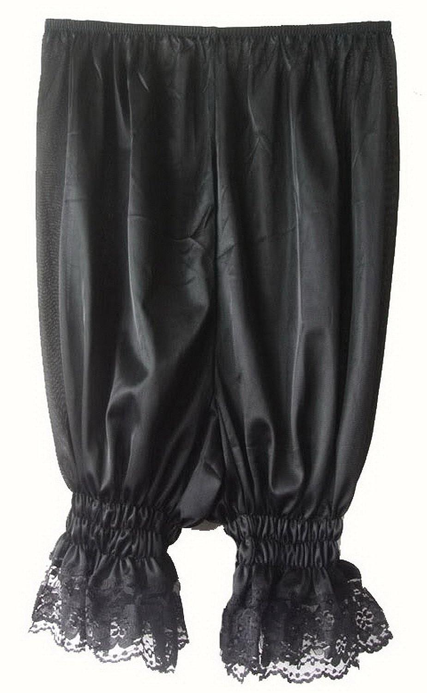 Frauen Handgefertigt Halb Slips UL3BK Black Half Slips Nylon Women Pettipants Lace günstig bestellen