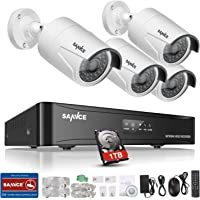 Sannce 4CH 1TB Security Camera System