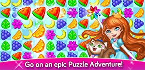 Gummy Gush Match-3 Puzzle by TapBlaze