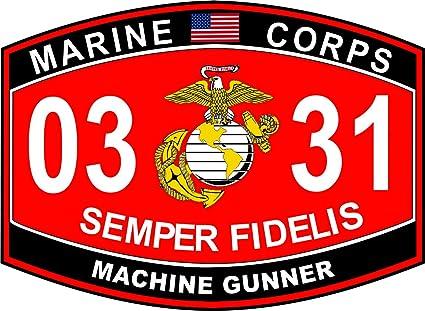 machine gunner mos
