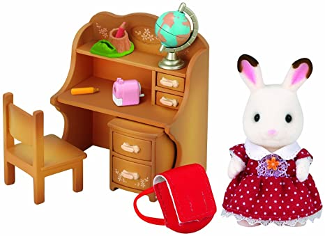 Girl, furniture set of Sylvanian Families doll furniture set chocolate rabbit