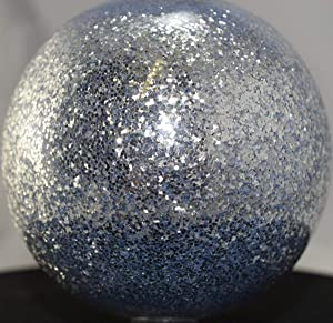 Vintage Paint Chrome Silver 0.035 Square Metal Flake - 3 Ounce (Color: Silver)