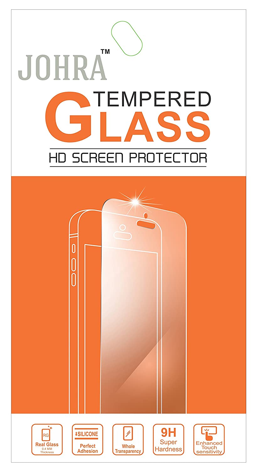 Johra 9H HD+ Real Tempered Glass Screen Scratch Guard Protector For Panasonic Eluga A2
