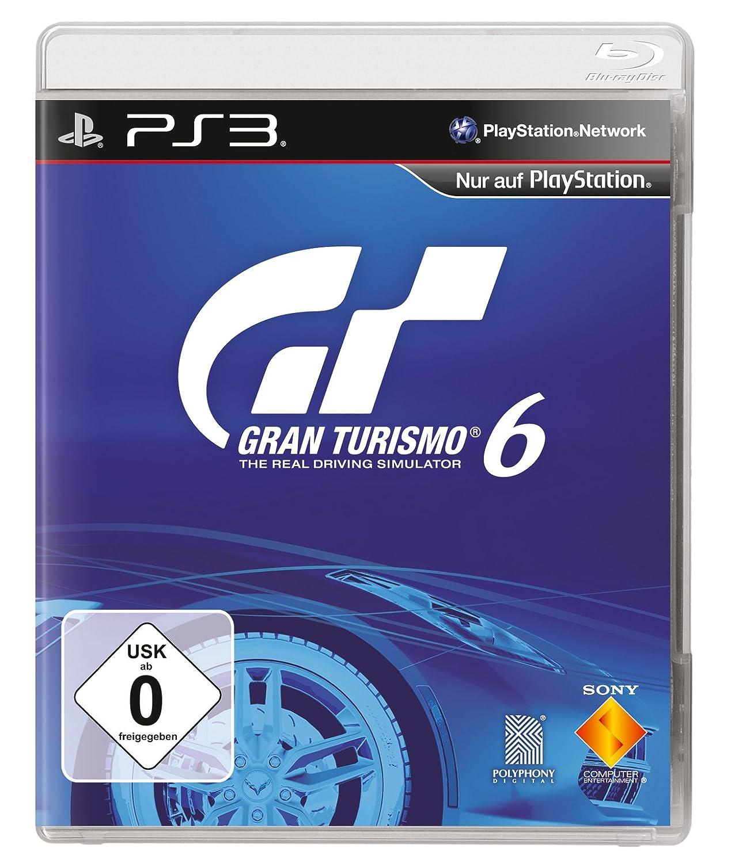 Gran Turismo 6 PS3 Saturn