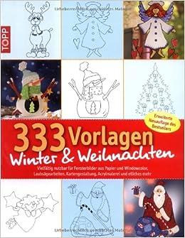 333 vorlagen winter weihnachten vielfaeltig nutzbar for Fensterbilder vorlagen