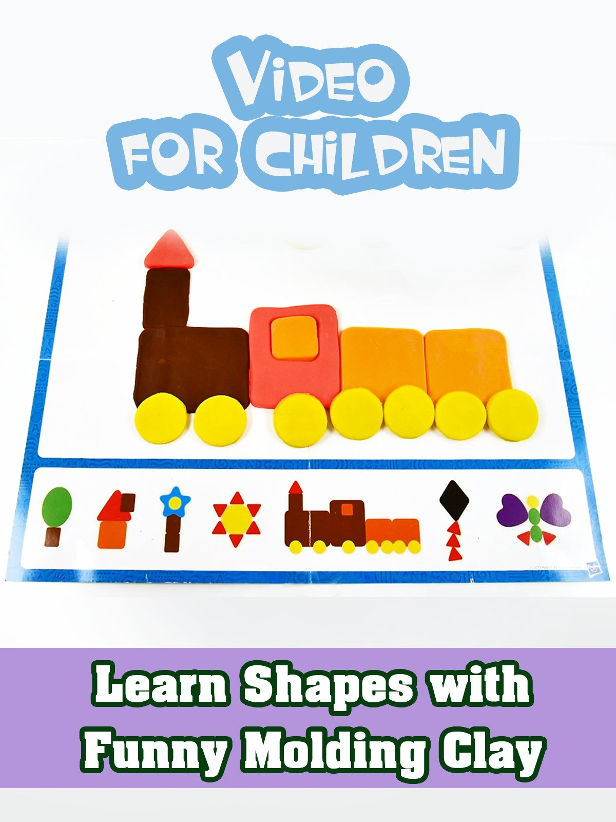 Learn Shapes with Funny Molding Clay on Amazon Prime Instant Video UK