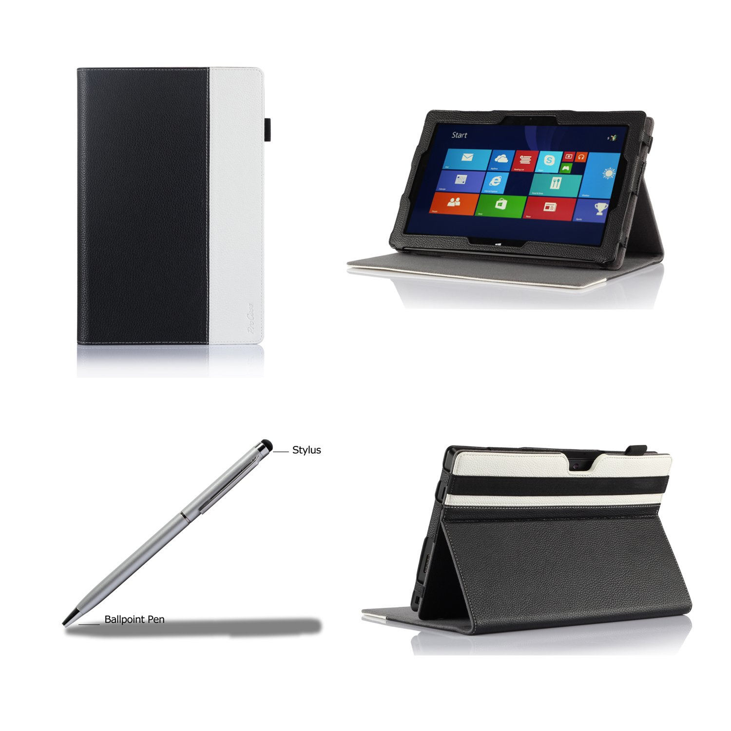 ProCase Premium Folio Case with Stand for Microsoft Surface PRO 3