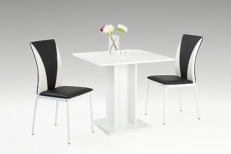 Mandy II EssgruppeEsstisch Tisch,Wohnzimmertisch,Esszimmer tisch,dekor weiß