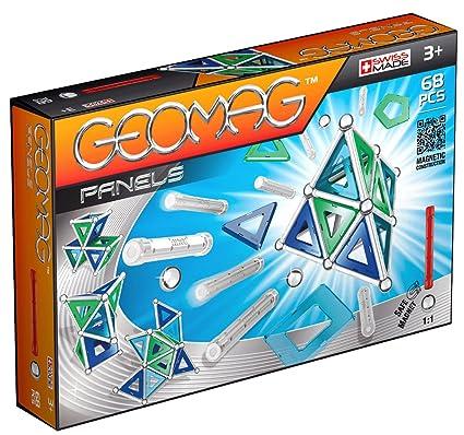 Geomag - 452 - Jeu de Construction - Panels -  68 Pièces