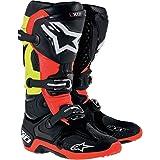 Alpinestars Tech 10 Boots-Black/Red/Yellow-9