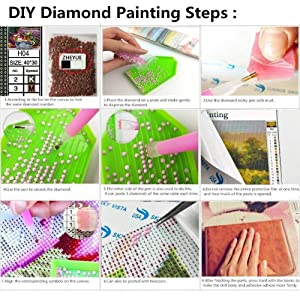 Dylan's Cabin DIY 5D Diamond Painting Kits for Adults,Full Drill Embroidery Paint with Diamond for Home Wall Decor(Dragon/12x16inch) (Color: dragon 2)
