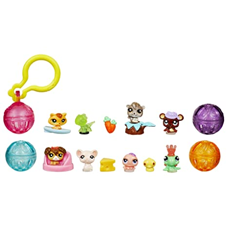 Littlest Pet Shop Teensies Pack - Safari, Ocean, Farm and Forest